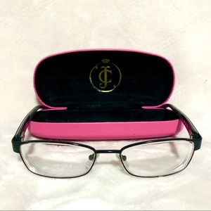 Juicy Couture Rx Glasses With Case